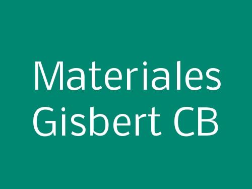 Materiales Gisbert CB