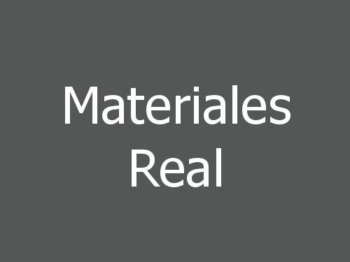 Materiales Real