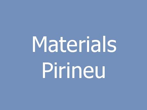 Materials Pirineu