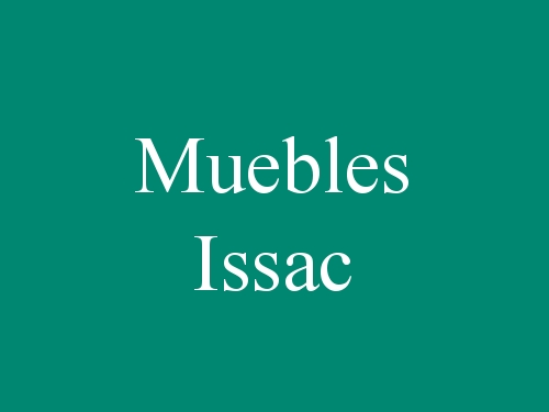 Muebles Issac