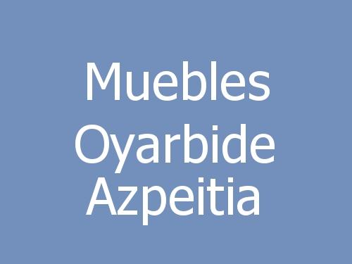 Muebles Oyarbide Azpeitia