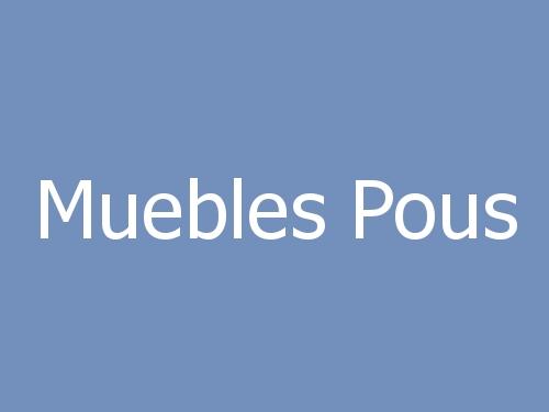 Muebles Pous