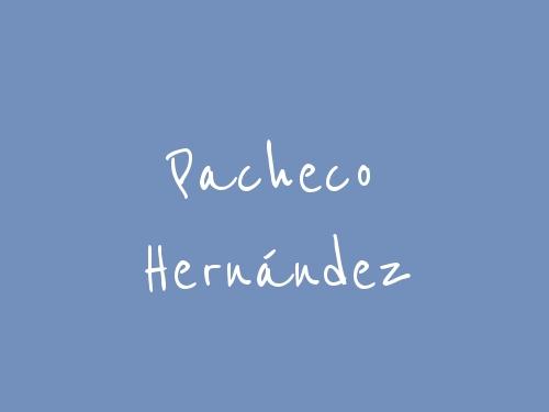 Pacheco Hernández
