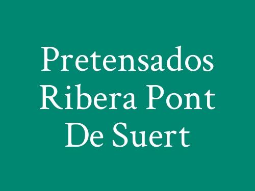 Pretensados Ribera Pont de Suert