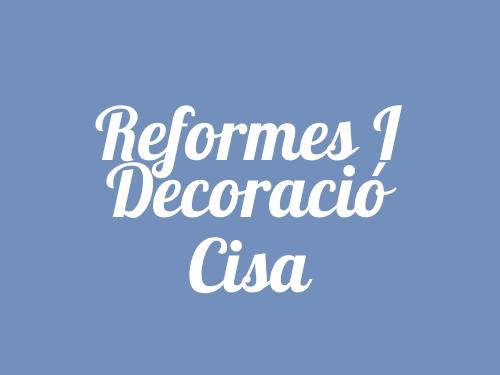 Reformes i Decoració Cisa