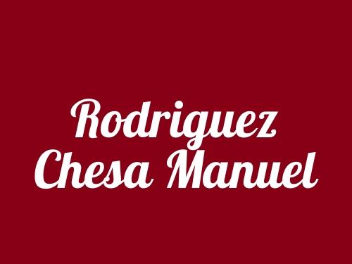 Rodriguez Chesa Manuel