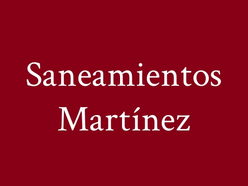 Saneamientos Martínez