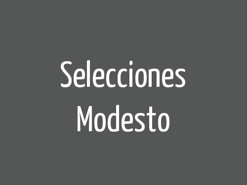 Selecciones Modesto