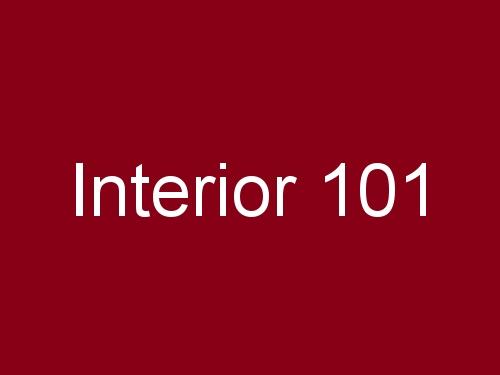 Interior 101