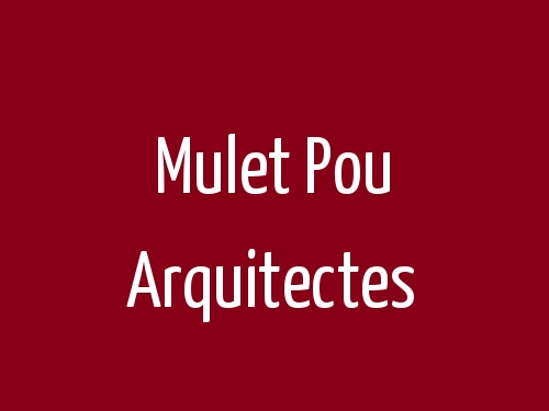Mulet Pou Arquitectes
