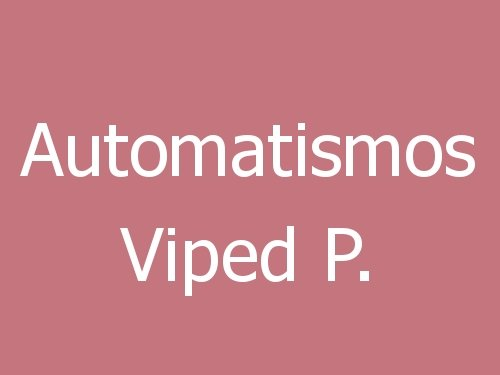 Automatismos Viped  P.