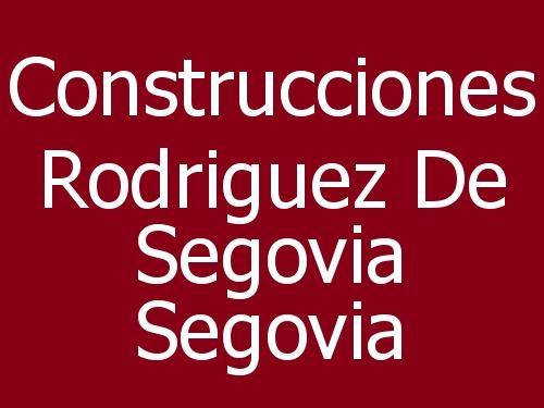 Construcciones Rodriguez De Segovia