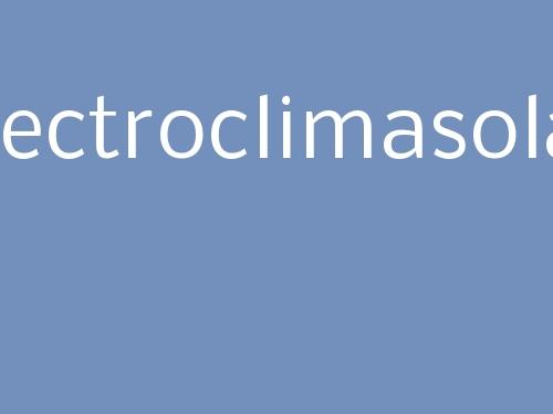 Electroclimasolar