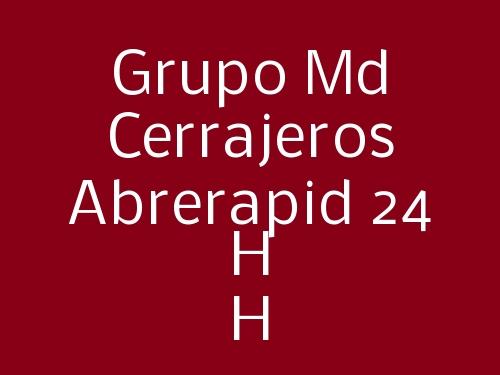 Grupo Md Cerrajeros Abrerapid 24 H