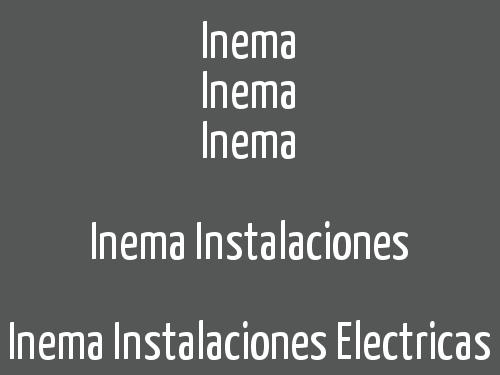 Inema   Instalaciones Electricas Maroto