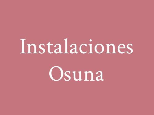 Instalaciones Osuna