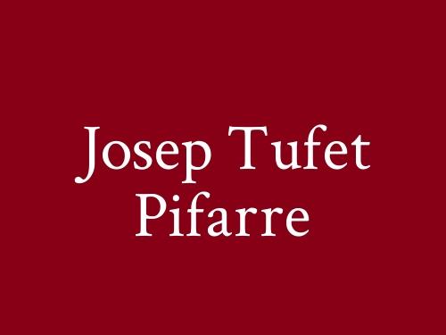 Josep Tufet Pifarre
