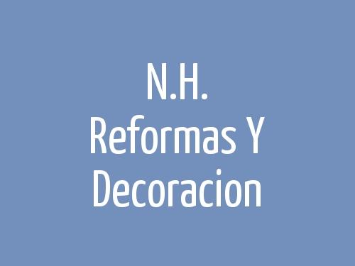 N.H. Reformas  Y Decoracion