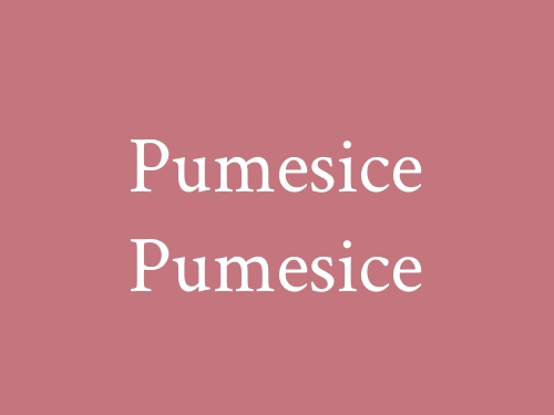 Pumesice