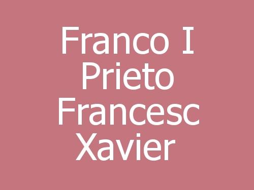 Franco i Prieto Francesc Xavier