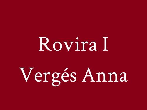 Rovira i Vergés Anna
