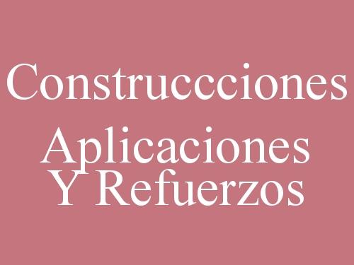 Construccciones Aplicaciones y Refuerzos