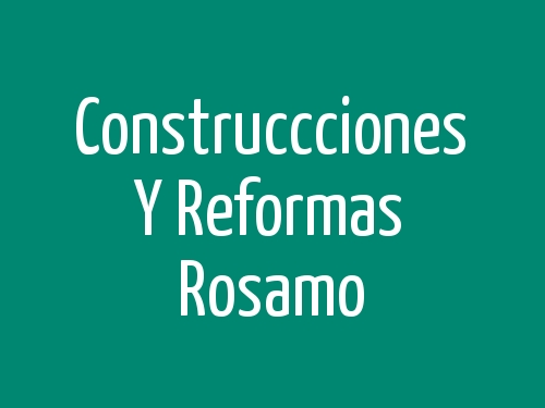 Construccciones y Reformas Moisés Sánchez
