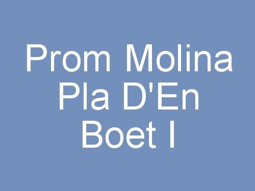 Prom Molina Pla d'En Boet I