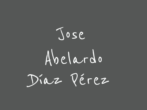 Jose Abelardo Díaz Pérez