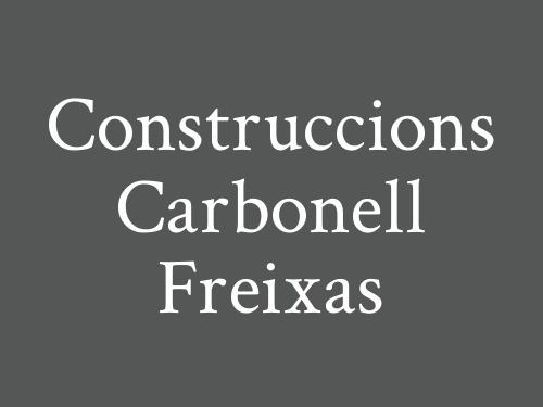 Construccions Carbonell Freixas