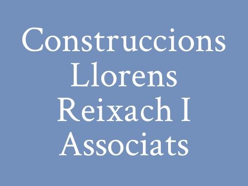 Construccions Llorens Reixach I Associats
