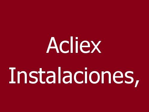 Acliex Instalaciones,