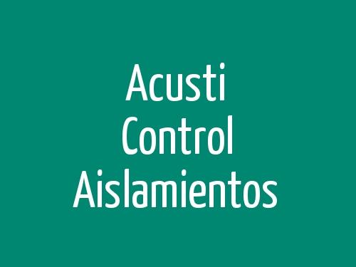 Acusti Control Aislamientos