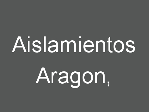 Aislamientos Aragon,