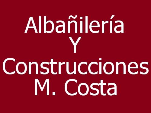 Albañilería y Construcciones M. Costa