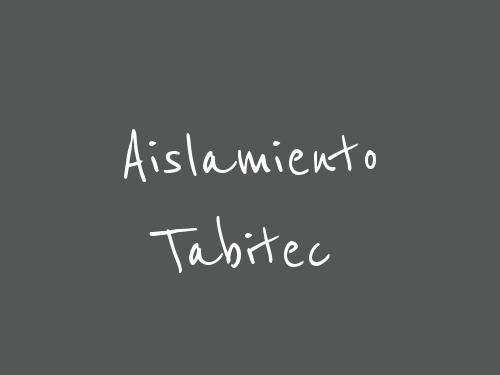 Aislamiento Tabitec