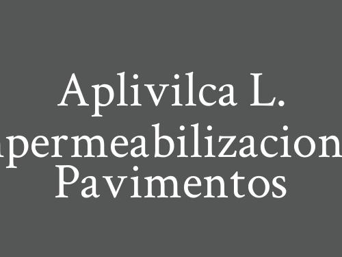 Aplivilca L. Impermeabilizaciones, Pavimentos