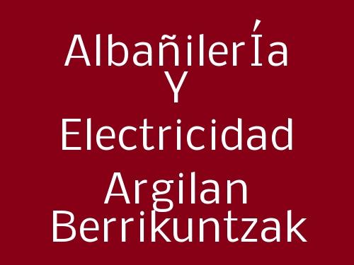 AlbañilerÍa y Electricidad Argilan Berrikuntzak
