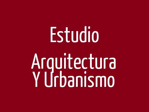 Estudio Arquitectura y Urbanismo