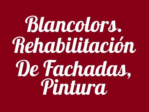 Blancolors. Rehabilitación de Fachadas, Pintura