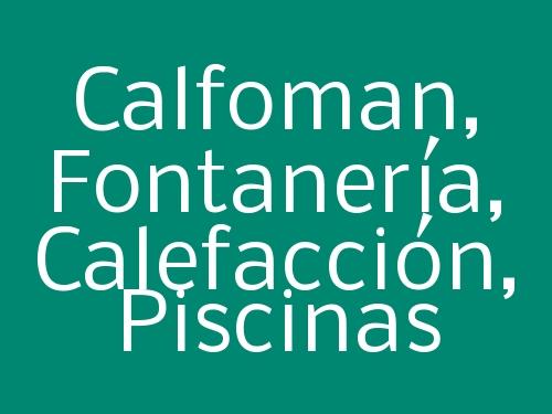 Calfoman,  Fontanería, Calefacción, Piscinas