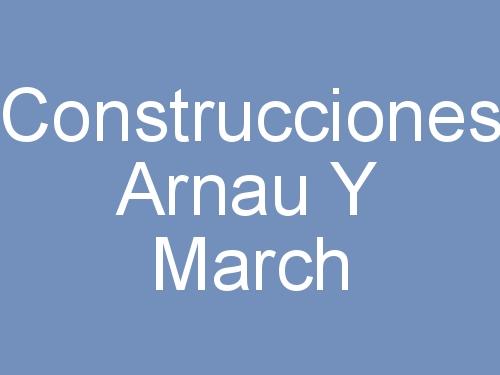 Construcciones Arnau y March