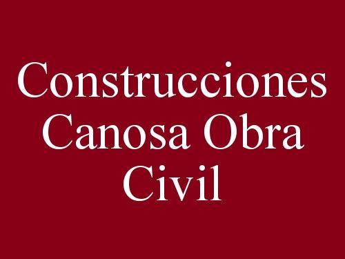 Construcciones Canosa Obra Civil