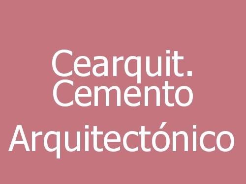 Cearquit. Cemento Arquitectónico