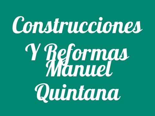 Construcciones y Reformas Manuel Quintana