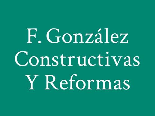 F. González Constructivas y Reformas