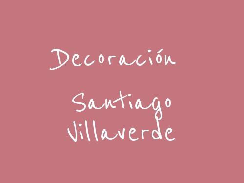 Decoración Santiago Villaverde