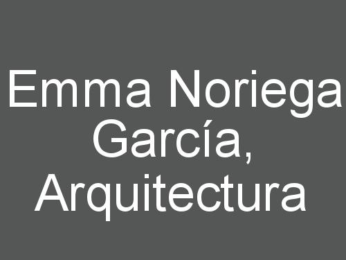 Emma Noriega García, Arquitectura