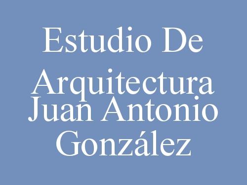 Estudio de Arquitectura Juan Antonio González