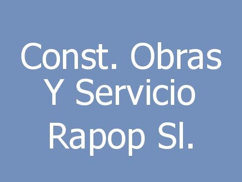 Const. Obras y Servicio Rapop Sl.